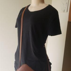 Mossimo Casual Black T-Shirt